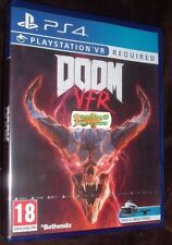 DOOM VFR Playstation 4 VR PS4 VR required NEW SEALED Free uk p&p UK SELLER