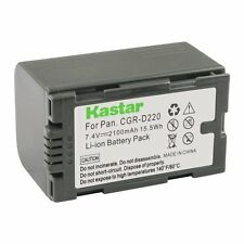 1x Kastar Battery for Panasonic CGR-D16 AG-EZ50U AG-HVX200 AJ-PCS060G DZ-MX5000