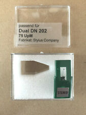1 piece spare needle (Stylus Company) for Dual DN202 DMS200 Shellac 78upm