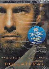 2 Dvd Steel Box Cofanetto **COLLATERAL** collector's edition con Tom Cruise 2004