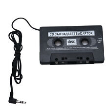 Latest Car Audio Tape Cassette Adapter For iphone MP3 CD Radio Nano 3.5mm AUX