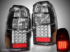 1996-2000 TOYOTA 4RUNNER SR5 BLACK LED TAIL LIGHTS NEW