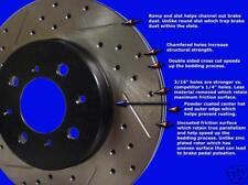 Infinity G-35 06 07 08  Drill/Slot  Brake Rotors F+R