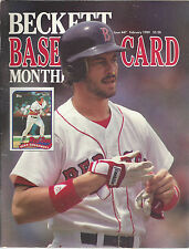 Mike Greenwell Beckett Price Guide February 1989 Kirk Gibson On Back Cover