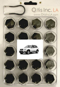 99-9712-B-X5 Series BLACK lug bolt covers BMW X5 series in U.S.A