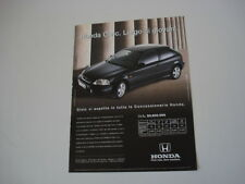 advertising Pubblicità 1997 HONDA CIVIC