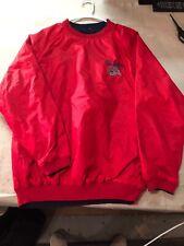 NWT!! Columbus Blue Jackets Pullover Reversible Style Jacket Coat L Pro Edge
