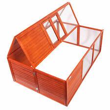 Conigliera Recinto  gabbia in legno  GALLINE CONIGLI lepri box
