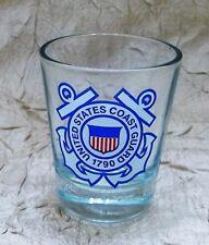 United States Coast Guard Logo Shot Glass Uscg