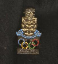 Cayman Islands Gold Olympic Committee NOC Pin Badge