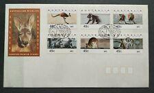 1994 Australia Animals Koala & Kangaroo CPS Stamps FDC