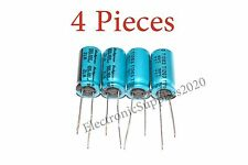 4x Capacitor Rubycon 100uF 100v 105C 10x20mm. Radial. US Seller