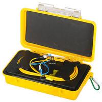 Optical Fiber Optic SC APC-SC UPC SM 1310//1550 2KM OTDR Launch Cable Box Ring
