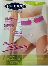 GUAINA SLIP DONNA VITA ALTA MODELLANTE MAGIC EFFECT POMPEA PANCIERA SNELLENTE