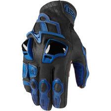 ICON Hypersport™ Short / Kurze Motorrad-Handschuhe schwarz-blau Größe M