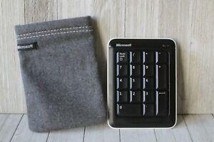 Microsoft Wireless Bluetooth Number Pad MS part NO. X821504-001