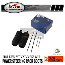 Power Steering Rack Boots Set fit Holden Commodore VT VX VY VZ WH WK WL 97-04