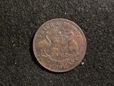 1861 ROBERT HYDE & CO HALF PENNY TOKEN - R292 - A288 - R5 RARITY