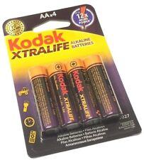 8 x KODAK XTRALIFE ALKALINE BATTERIES Size AA R6 MN1500 HP7 BATTERY 1.5v SEALED