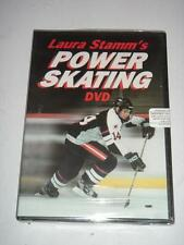 DVD Laura Stamm's POWER SKATING by Human Kinetics Hockey NFL Sealed NEW