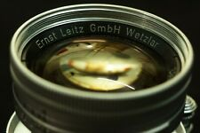 Leica Leitz Summicron 50mm f/2 5cm L39 Screw Collapsible Radioactive
