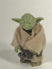 Star Wars Vintage Figure Master Yoda w/Belt Cloak 1980 LFL HK EX