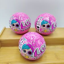 LOL Surprise Dolls Series 4 Wave 2 LIL Sisters Eye Spy Ball Lot of 3