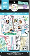 The Happy Planner COLORFUL BOXES Value Pack Stickers 30shts/594pcs