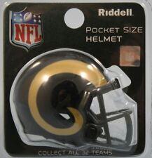 NFL American Football LOS ANGELES RAMS Riddell SPEED Pocket Pro Helmet