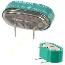 Varta mempac - 55615702012 2v150h 2.4 v Ni-mh respaldo de batería Montaje Pcb 2xv150h