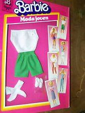 #7912 MODA JOVEN BERMUDAS BARBIE  FASHION  foreign imported from Spain (c)1985