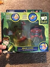 Bandai BEN 10 Alien Force BRAIN STORM BrainStorm Figure Set NEW Free Shipping