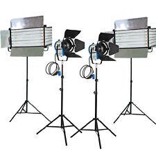Studio KIT 2X1000W Fresnel luci al tungsteno 2 xfluorescent 6 Banca LUCE Home Cinema