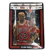 Vintage Michael Jordan Collector's Plate 25K Point