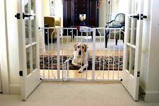 Carlson Safety Baby Gate with Pet Dog Cat Door Extra Wide Walk Thru Home Design