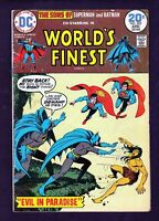 DC Comics World's Finest Comics #222 1974 G-VG 3.0 Super Sons LI-01