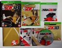 NBA 2K18 LEGEND EDITION GOLD  Xbox One 1, Complete  Game Tested & Works