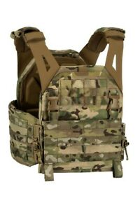 Warrior Assault System LPC Low profile Tactical Military Plate Carrier Multicam