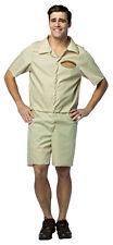 Jmr. Camel-camel Towing Comp Adult Costume Khaki Jumpsuit Halloween Fancy Dress