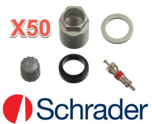 50 TPMS Sensor Service Kits SCHRADER Replace GMC OEM # 044230E010