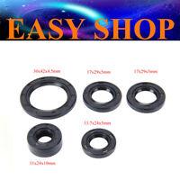 Gear Crankshaft Case Kick Start Oil Seal 110cc 125cc 30x42x4.5mm 17x29x5mm