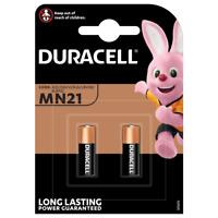 2 Stück Duracell MN21 12V Volt Batterie  A23, MN21, 23AF, 23AE, V23GA, MN21/23