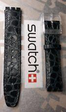 Swatch cinturini Automatici - Chrono - Scuba - ATTACCO 17mm - Pelle black/gray