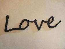 """Wooden """"Love"""" Plaque Words/Letters Home/Door/Wall Decoration Art/Craft"""