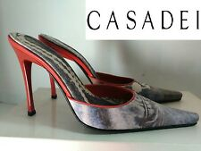 """CASADEI """" BELLISSIMO SABOT DONNA  COL. JEANS  N°36 NUOVO"""""""