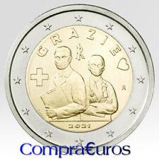 2 Euros Conmemorativos ITALIA 2021 *Profesiones Sanitarias* Sin Circular