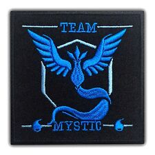 Pokemon Go Mystic Team Patch Embroidered Iron On Pikachu Nintendo Cartoon High