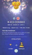 Combee (Female) #415 Pokemon Go ✔Rare ✔ Evolve into Vespiquen ✔100% Quick & Safe