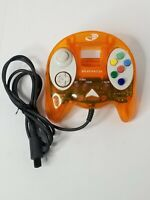 Nyko Dream Master Sega Dreamcast Controller Translucent Orange Tested