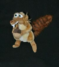 Peluche doudou écureuil Scrat gland AGE DE GLACE Play By Play beige 19 cm TTBE